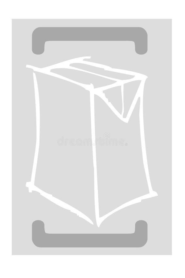 Recicl - composto ilustração stock
