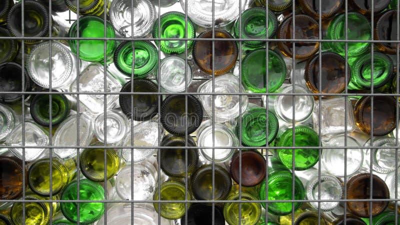 Recicl de vidro imagens de stock royalty free