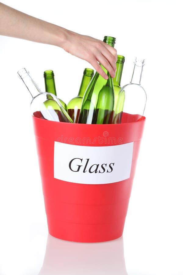 Recicl de vidro fotos de stock