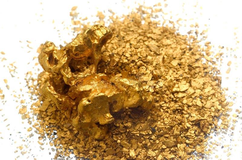 Recicl do ouro imagem de stock royalty free