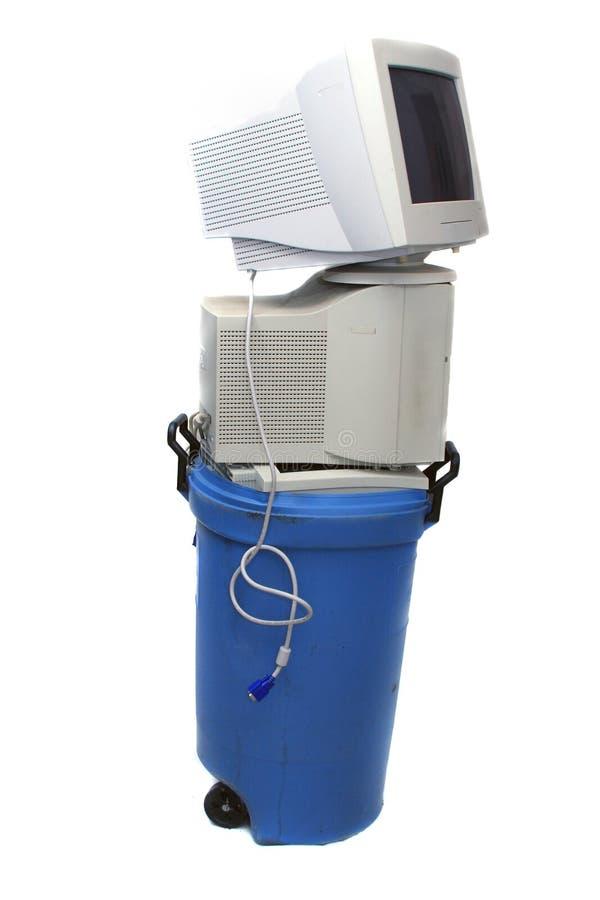 Recicl eletrônico imagens de stock royalty free