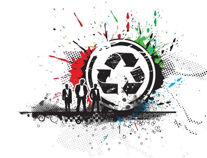 Recicl o ícone ilustração royalty free