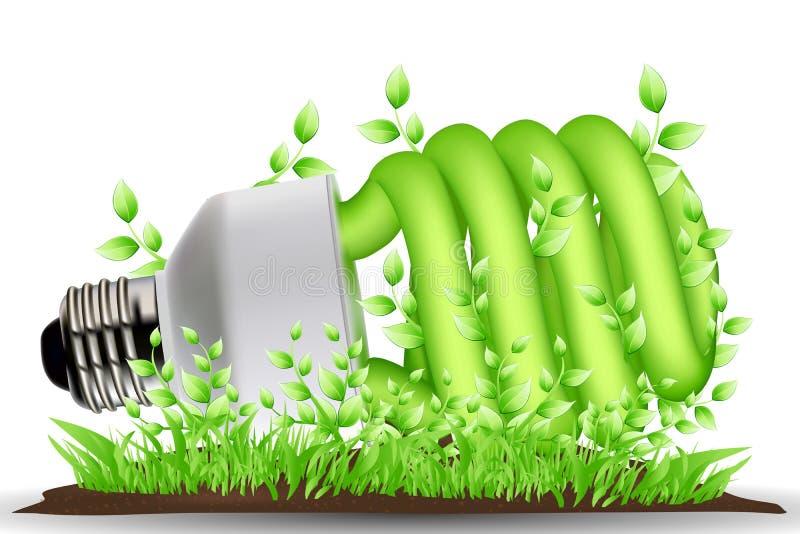Download Recicl o cfl ilustração stock. Ilustração de isolado - 16870560