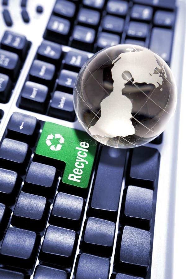 Recicl o conceito. fotografia de stock royalty free