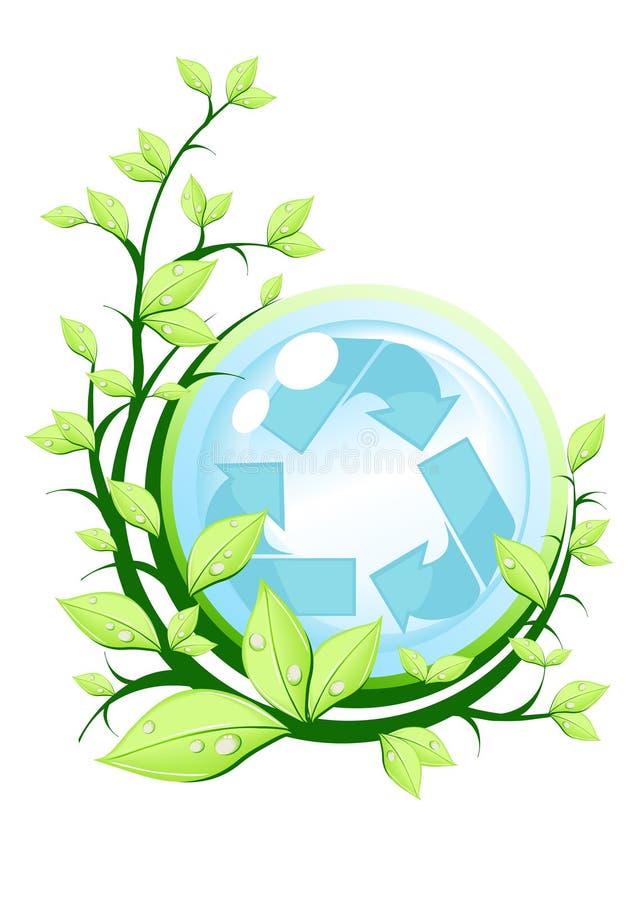 Download Recicl o conceito ilustração stock. Ilustração de global - 12801031