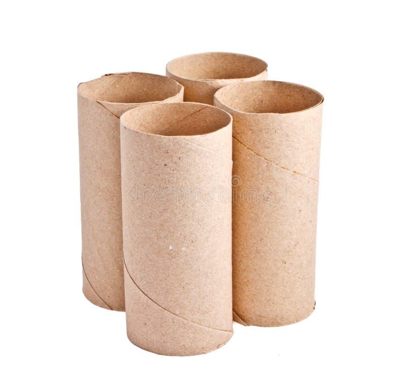 Recicl o empacotamento de papel imagens de stock royalty free