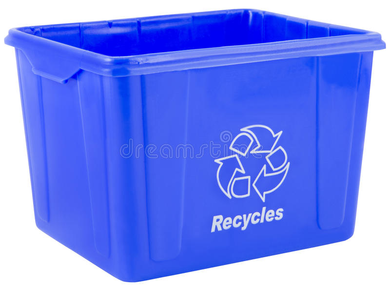 Recicl O Escaninho Fotografia de Stock Royalty Free