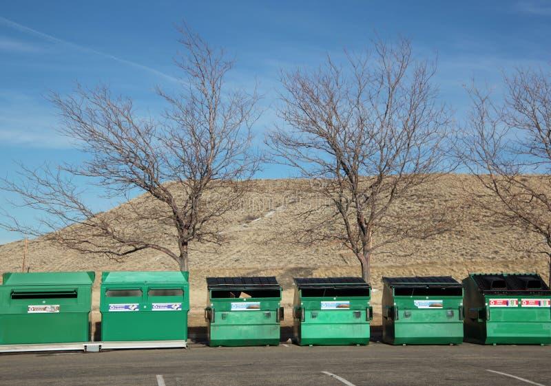 Recicl o escaninho. imagem de stock royalty free