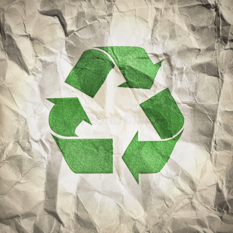 Recicl o papel ilustração royalty free
