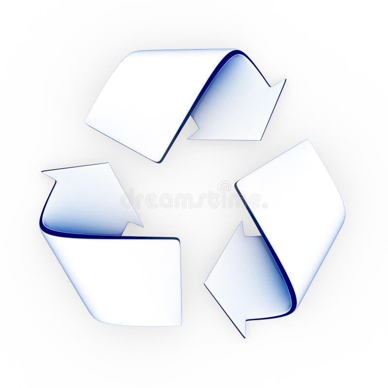 Recicl o símbolo ilustração royalty free