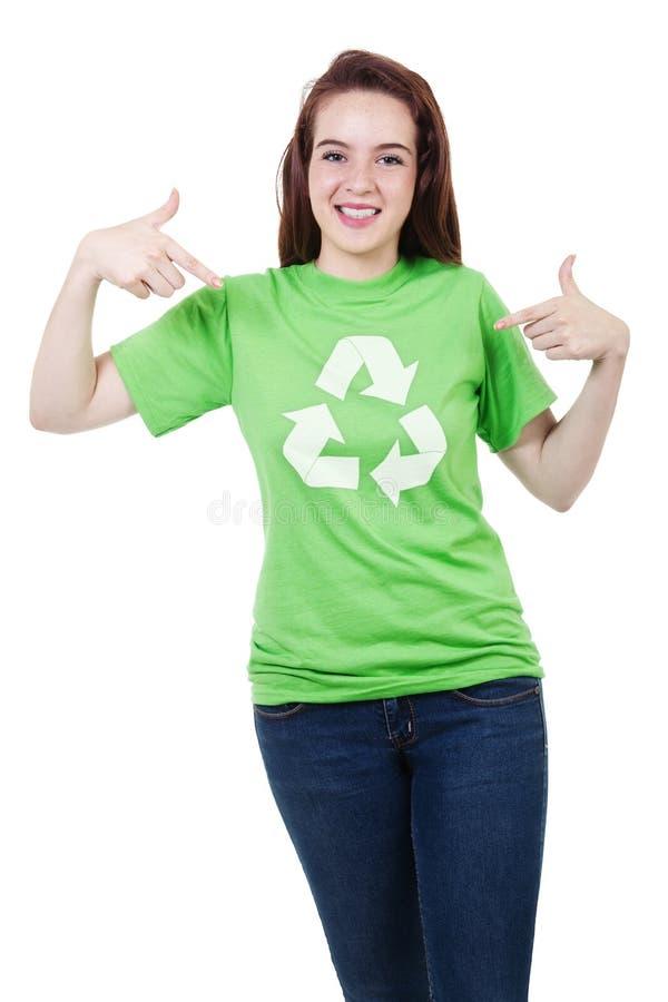 Recicl por favor fotos de stock