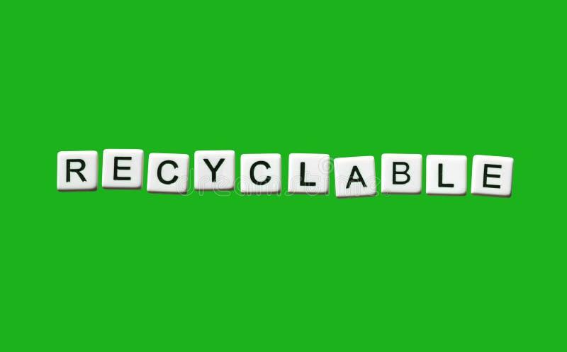 reciclable imagen de archivo