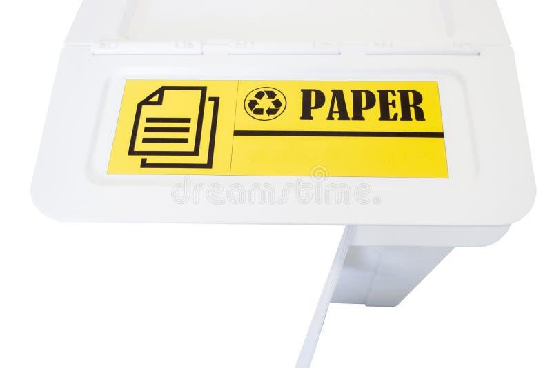 Reciclagem do lixo imagens de stock