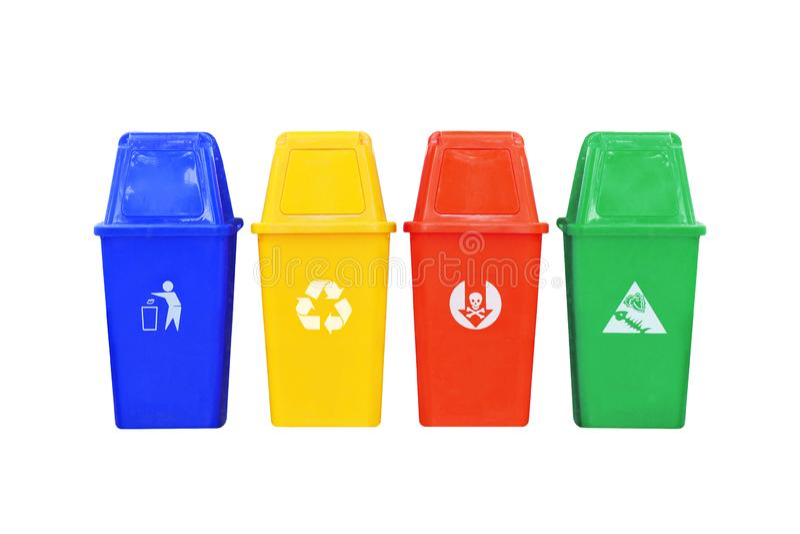 reciclagens isoladas no branco fotos de stock royalty free