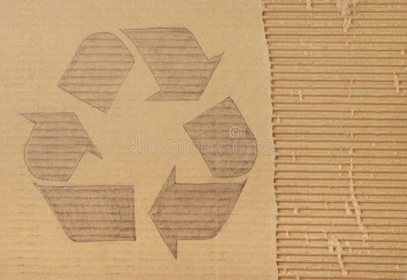 Reciclaje de símbolo imágenes de archivo libres de regalías