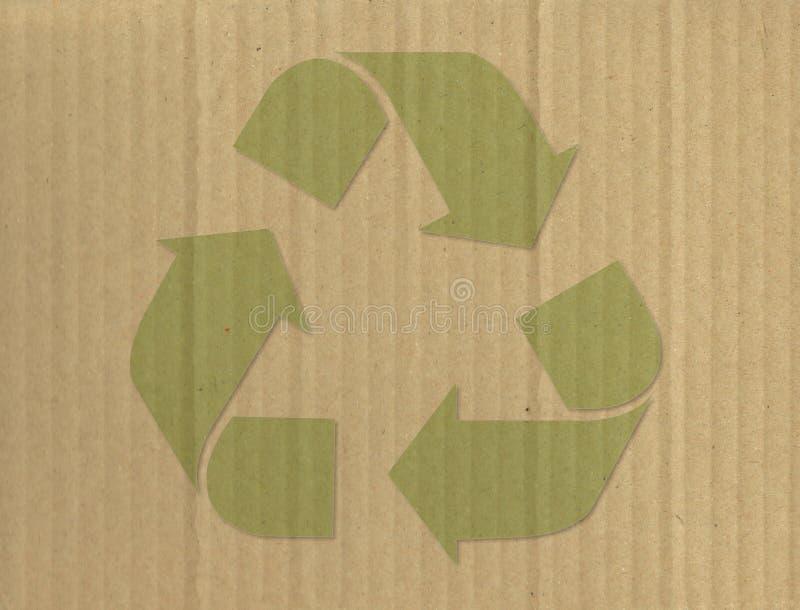 Reciclaje de s?mbolo imagen de archivo libre de regalías
