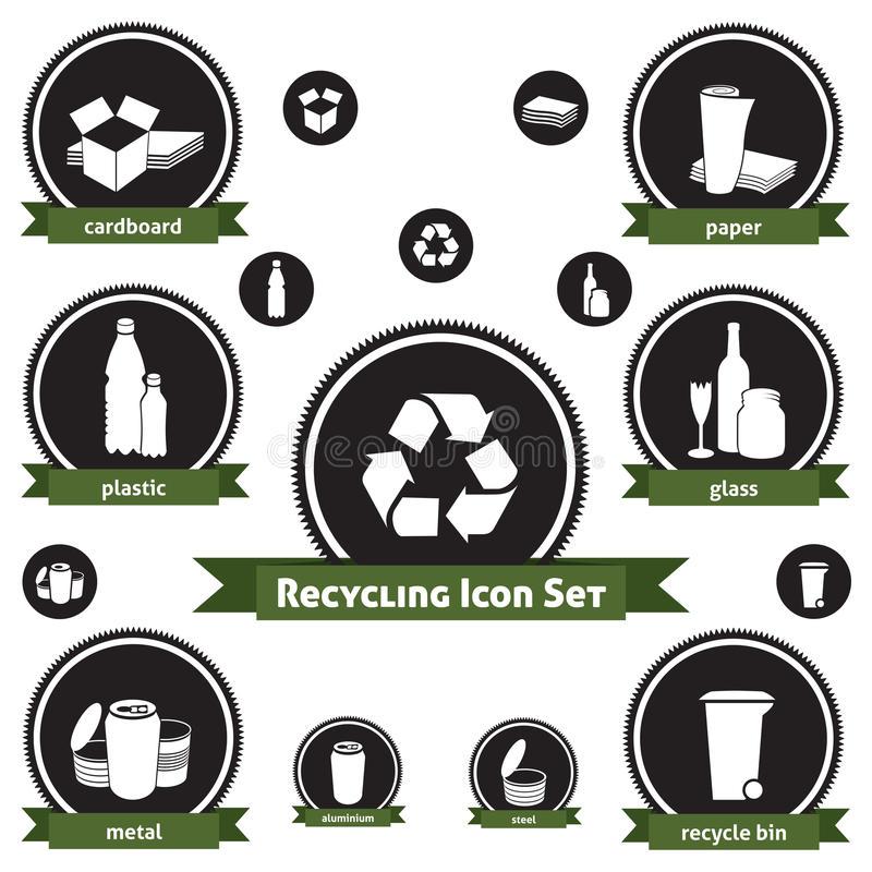 Reciclaje del conjunto del icono
