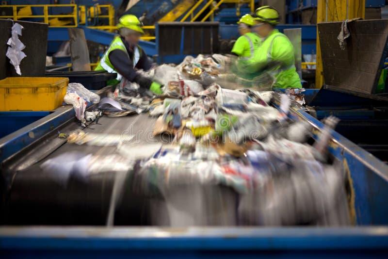 Reciclando a correia imagem de stock