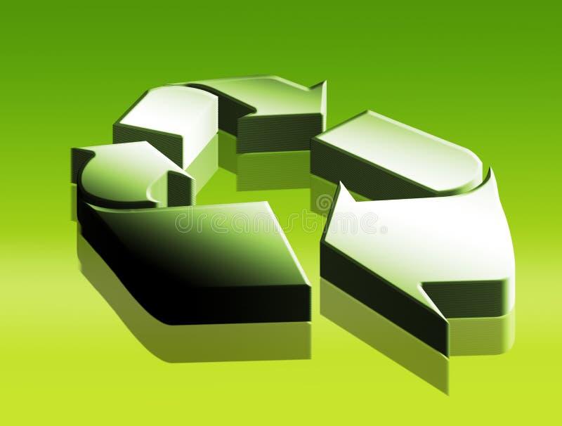 Recicle illustration stock