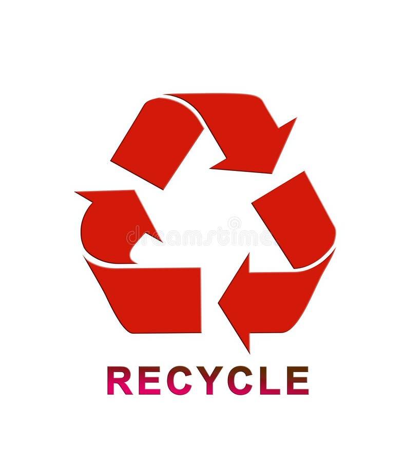 Recicle 6 stock de ilustración