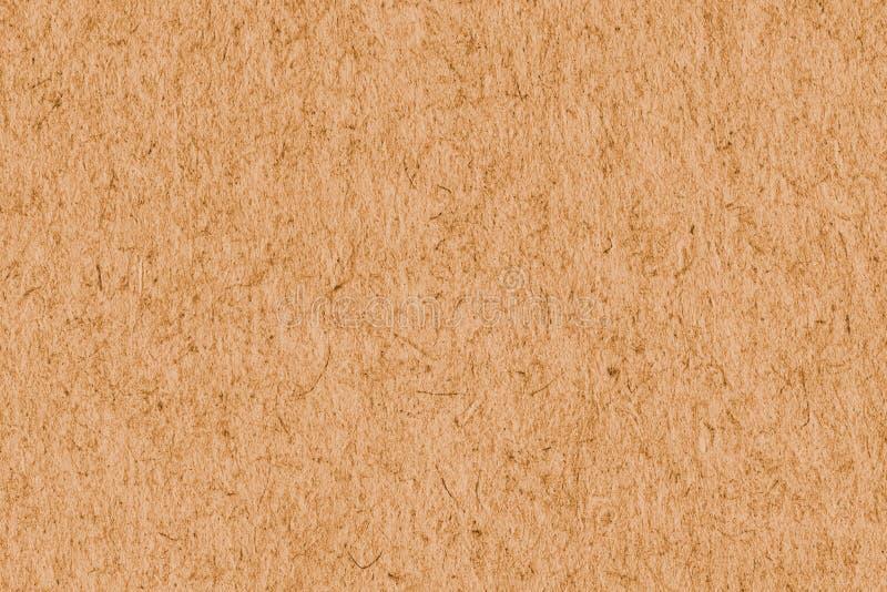 Recicle a amostra extra alaranjada de papel da textura do Grunge da grão grosseira fotos de stock