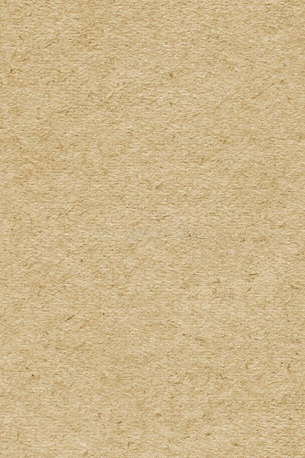 Recicle a amostra extra amarela de papel da textura do Grunge da grão grosseira imagens de stock royalty free