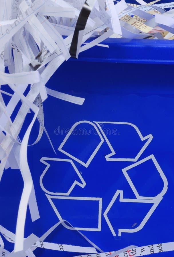 Recicle El Compartimiento Foto de archivo