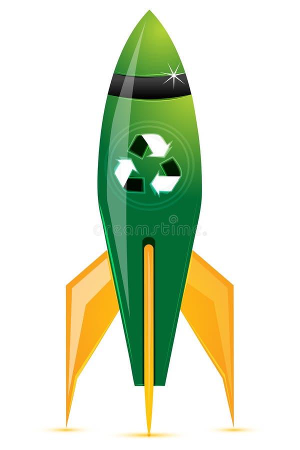 Recicle el jet libre illustration
