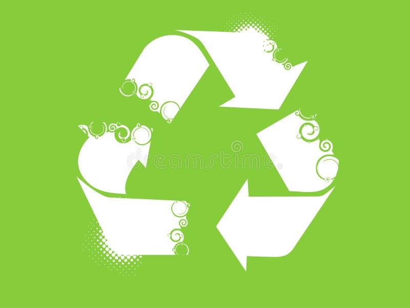 Recicle el símbolo stock de ilustración