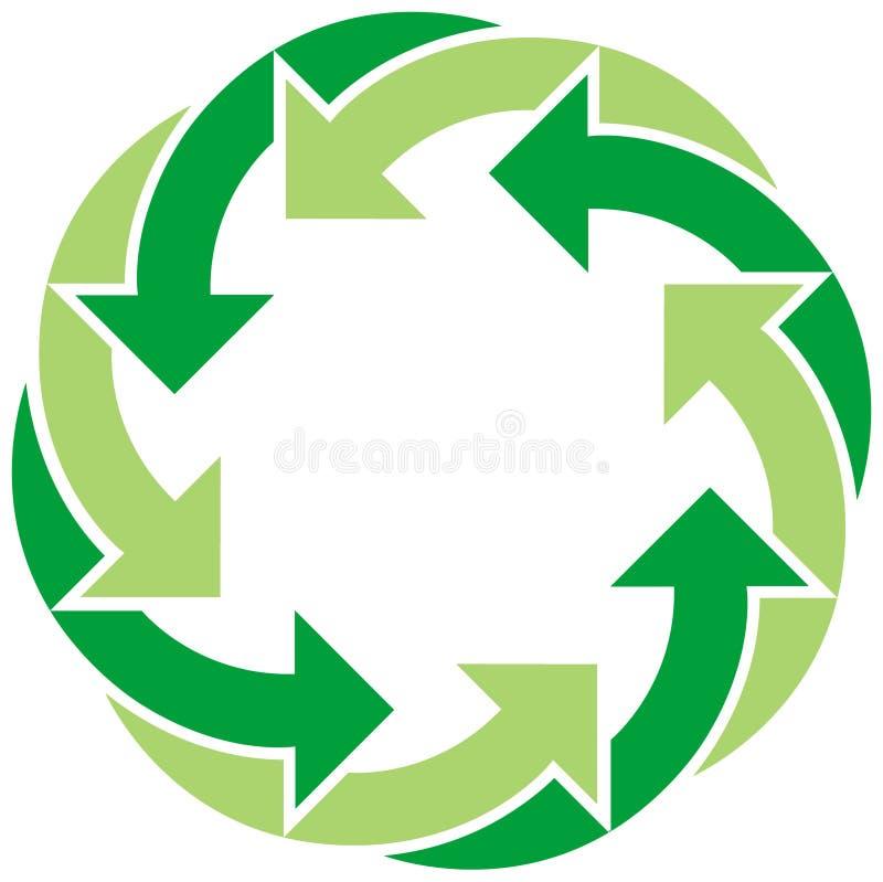 Recicle el símbolo foto de archivo libre de regalías