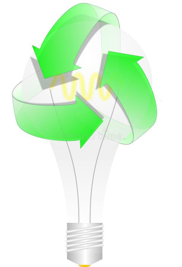 Recicle la idea imágenes de archivo libres de regalías