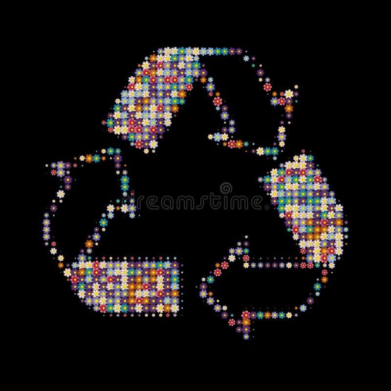 Recicle los colores imagen de archivo
