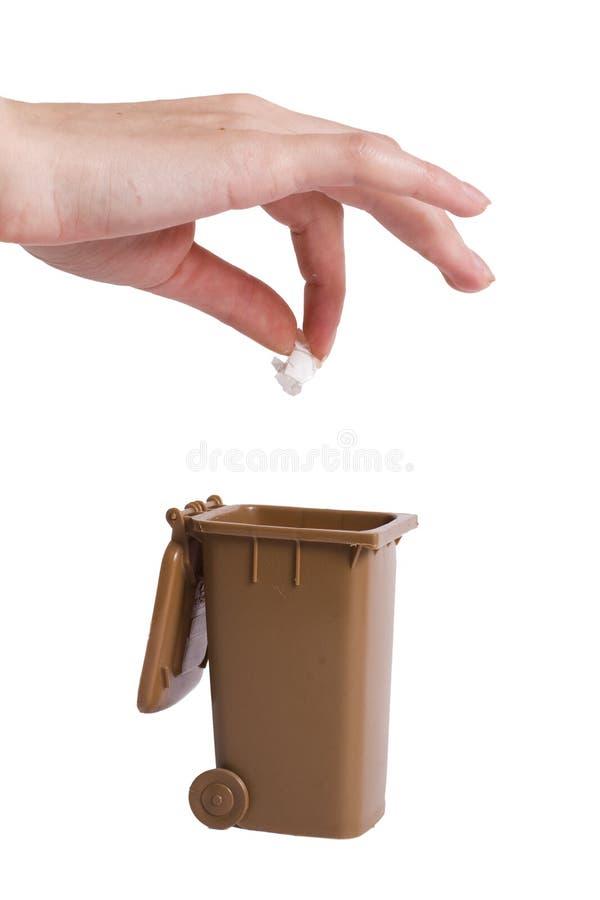 recicleavfall royaltyfri bild