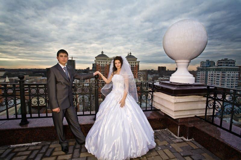 Recienes casados fotos de archivo libres de regalías