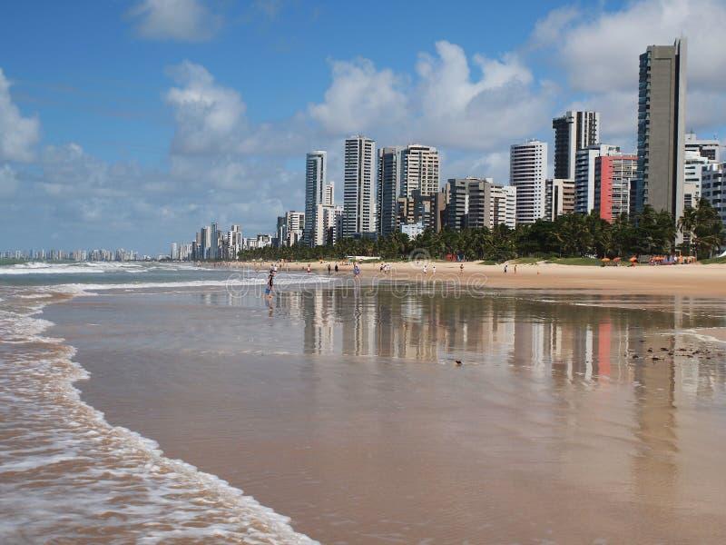 Recife. Coast of the city of Recife, Brazil stock photos