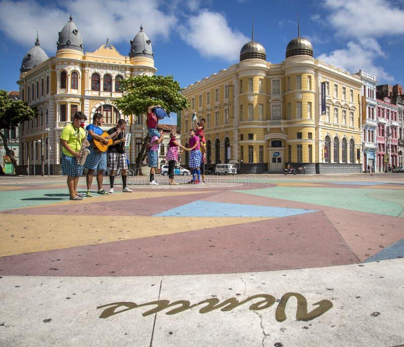 Recife Antigo royalty-vrije stock afbeeldingen