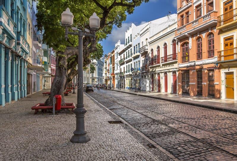 Recife Antigo stock fotografie