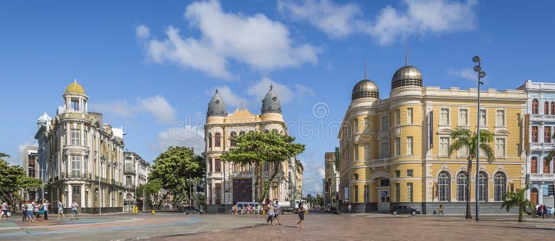 Recife Antigo stock photos