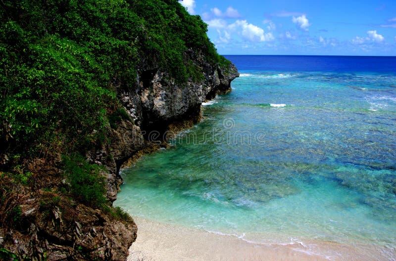 Recife de Hio, Niue foto de stock royalty free