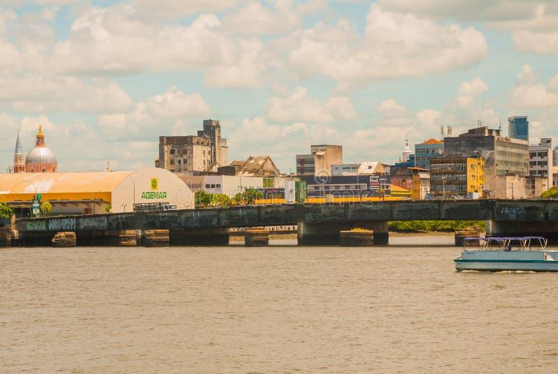 RECIFE, PERNAMBUCO, BRASILIEN: Recife, die Hauptstadt nordöstlichen Staates Brasiliens s von Pernambuco, wird durch seine vielen  lizenzfreie stockfotos