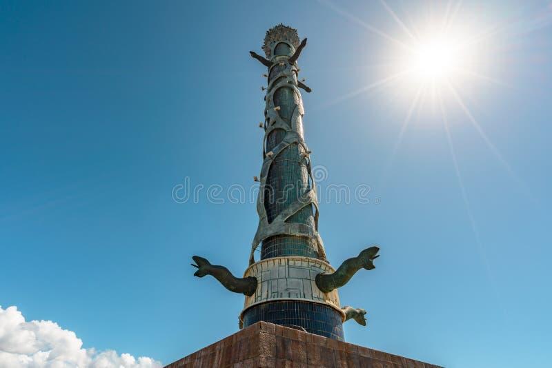 Recife, Pernambuco, Brazil - JUN, 2018: Sculpture Park Francisco Brennand. Sculpture Park Francisco Brennand in a sunny blue sky day, Recife, Pernambuco stock photo