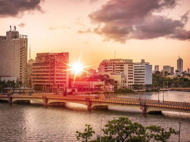 Recife in Pernambuco, Brazilië royalty-vrije stock fotografie