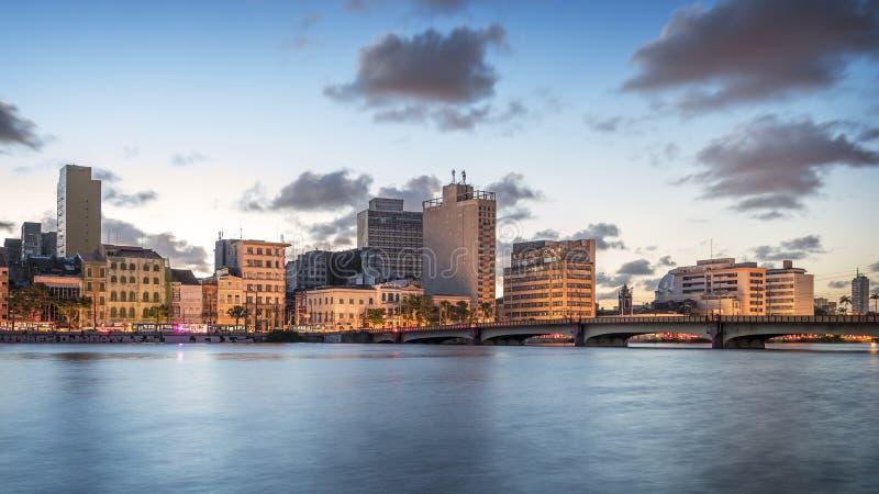 Recife in Pernambuco, Brazilië royalty-vrije stock foto's