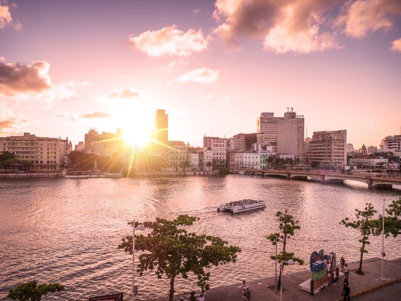 Recife w Pernambuco, Brazylia obraz royalty free
