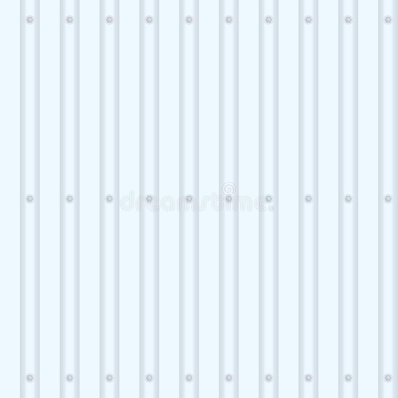 Recinto dal metallo-profilo illustrazione vettoriale
