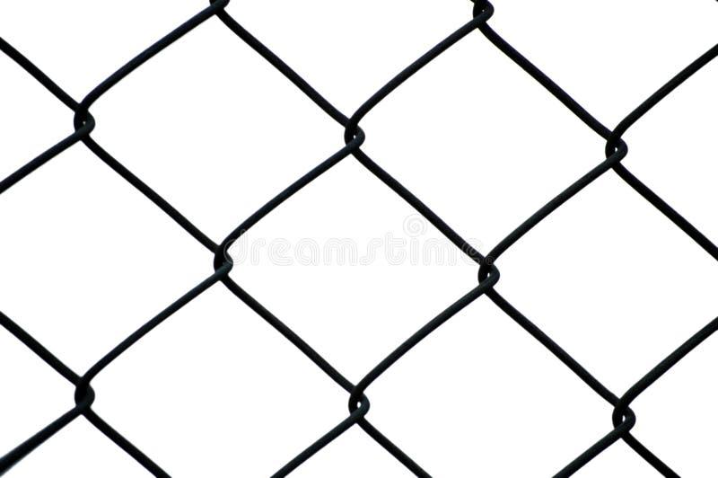 Recinto di filo metallico immagine stock