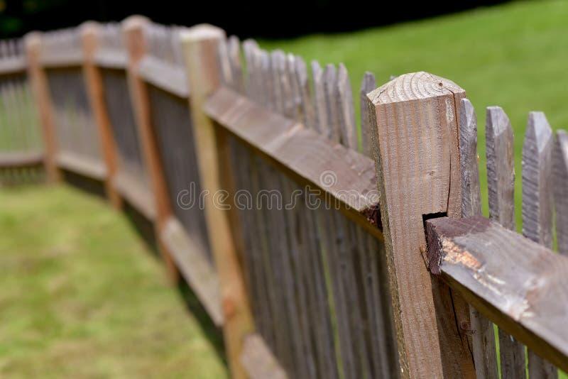 Recinto di legno fotografie stock libere da diritti