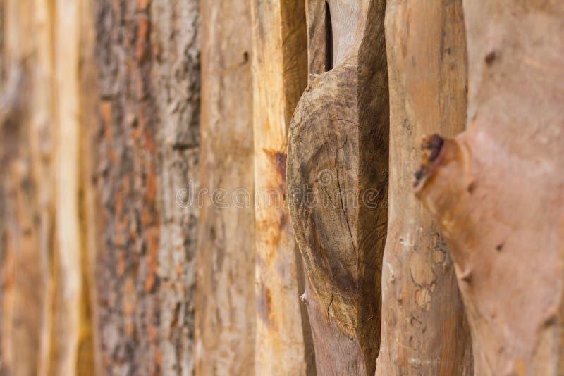 Recinto di legno con il nodo immagine stock libera da diritti
