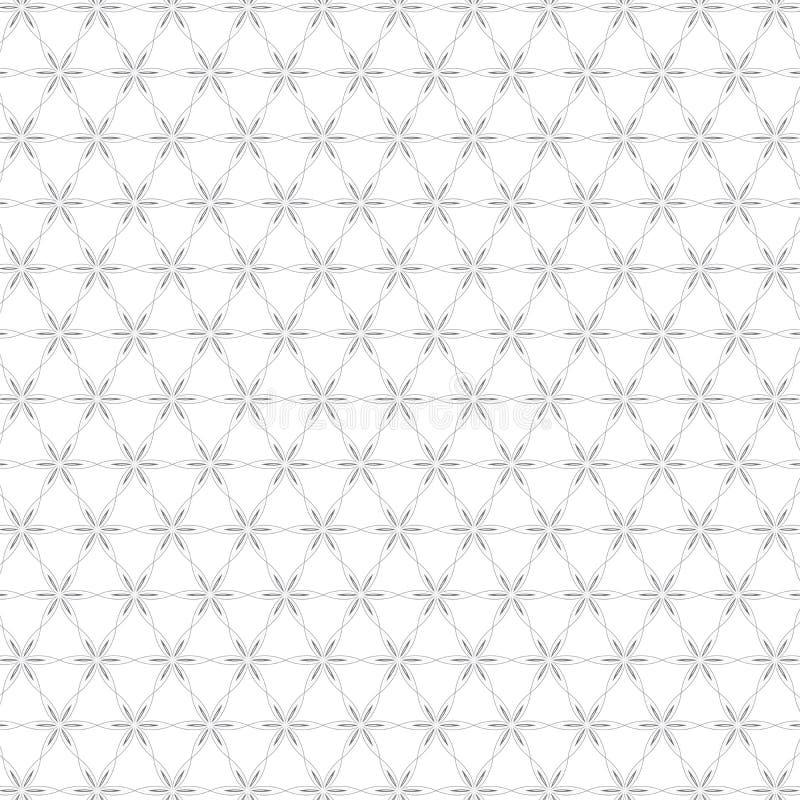 Recinto floreale variopinto astratto di lusso Pattern Texture Background del fiore illustrazione vettoriale