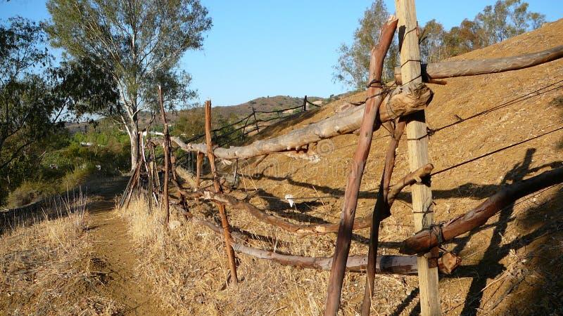 Recinzione rurale immagini stock